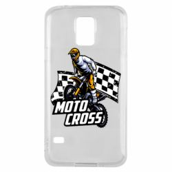 Чехол для Samsung S5 Motocross