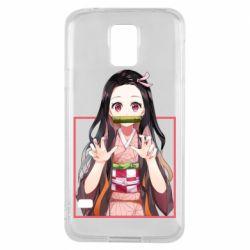Чохол для Samsung S5 Nezuko
