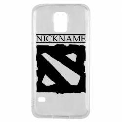 Чехол для Samsung S5 Nickname Dota