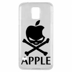 Чехол для Samsung S5 Pirate Apple