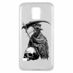 Чехол для Samsung S5 Plague Doctor graphic arts