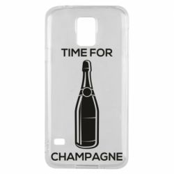 Чохол для Samsung S5Time for champagne