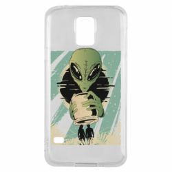 Чохол для Samsung S5Alien with a can