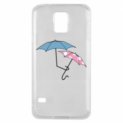 Чехол для Samsung S5 Umbrella love Color