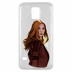 Чохол для Samsung S5 Vanda's portrait