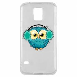 Чехол для Samsung S5 Winter owl
