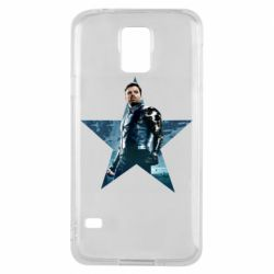 Чохол для Samsung S5 Winter Soldier Star