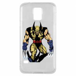 Чохол для Samsung S5 Wolverine comics
