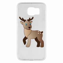 Чехол для Samsung S6 Cartoon deer