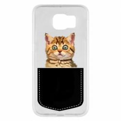 Чехол для Samsung S6 Cat in your pocket