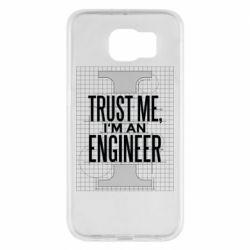 Чохол для Samsung S6 Довірся мені я інженер