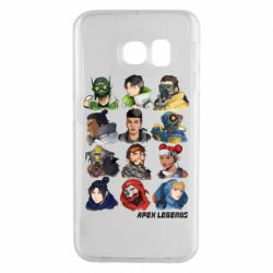 Чохол для Samsung S6 EDGE Apex legends heroes
