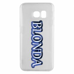 Чехол для Samsung S6 EDGE BLONDA
