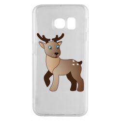 Чехол для Samsung S6 EDGE Cartoon deer