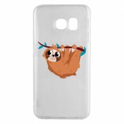 Чохол для Samsung S6 EDGE Cute sloth