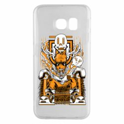 Чехол для Samsung S6 EDGE Deer On The Throne