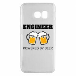 Чохол для Samsung S6 EDGE Engineer Powered By Beer