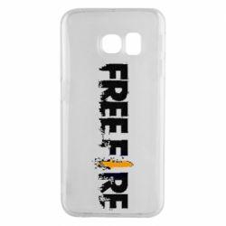 Чехол для Samsung S6 EDGE Free Fire spray