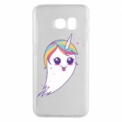 Чохол для Samsung S6 EDGE Ghost Unicorn