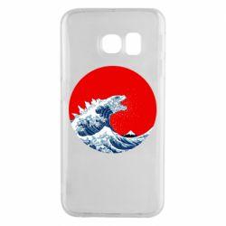 Чохол для Samsung S6 EDGE Godzilla Wave