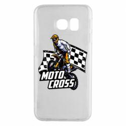Чехол для Samsung S6 EDGE Motocross