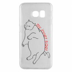 Чохол для Samsung S6 EDGE My inner tiger