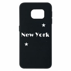 Чехол для Samsung S6 EDGE New York and stars