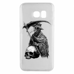 Чехол для Samsung S6 EDGE Plague Doctor graphic arts