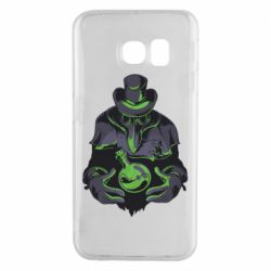 Чехол для Samsung S6 EDGE Plague Doctor