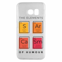 Чохол для Samsung S6 EDGE Sarcasm