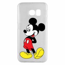 Чехол для Samsung S6 EDGE Smiling Mickey