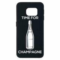 Чохол для Samsung S6 EDGE Time for champagne