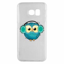 Чехол для Samsung S6 EDGE Winter owl
