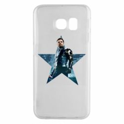 Чохол для Samsung S6 EDGE Winter Soldier Star