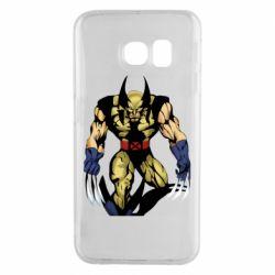 Чохол для Samsung S6 EDGE Wolverine comics