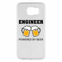 Чохол для Samsung S6 Engineer Powered By Beer