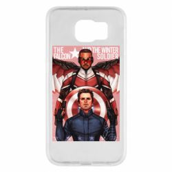 Чохол для Samsung S6 Falcon and the Winter Soldier Art