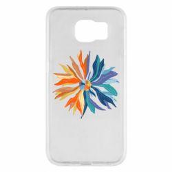 Чохол для Samsung S6 Flower coat of arms of Ukraine