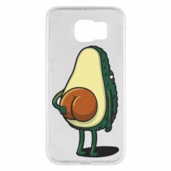 Чохол для Samsung S6 Funny avocado