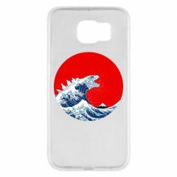 Чохол для Samsung S6 Godzilla Wave