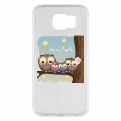 Чехол для Samsung S6 Happy family