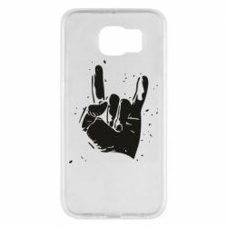 Чехол для Samsung S6 HEAVY METAL ROCK