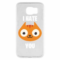 Чохол для Samsung S6 I hate you