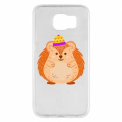 Чохол для Samsung S6 Little hedgehog in a hat