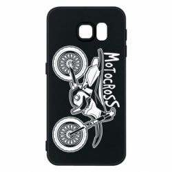 Чохол для Samsung S6 Motocross text and motorcycle