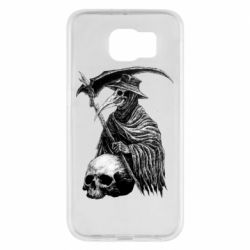 Чехол для Samsung S6 Plague Doctor graphic arts
