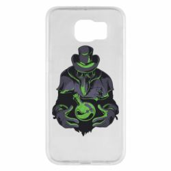 Чехол для Samsung S6 Plague Doctor