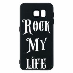 Чехол для Samsung S6 Rock my life