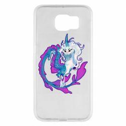Чохол для Samsung S6 Sisu Dragon Art