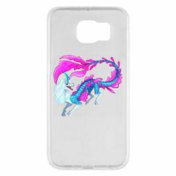 Чохол для Samsung S6 Sisu Water Dragon